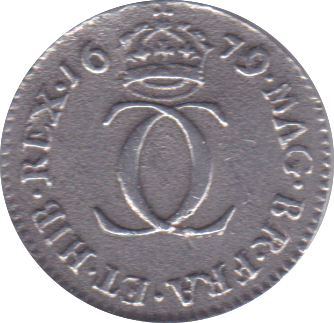 1679 MAUNDY TWOPENCE ( VF )