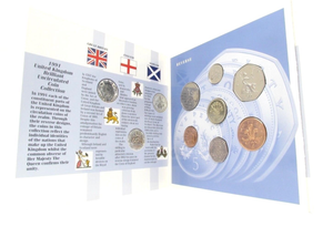 1991 BRILLIANT UNCIRCULATED COIN YEAR SET