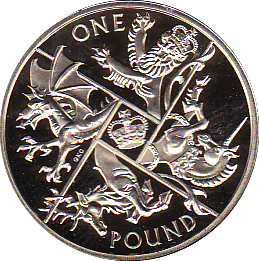 2016 ONE POUND PROOF THE LAST ROUND POUND