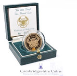1986 Gold Proof £2 Commonwealth Games Coin Box COA Bullion Double Sovereign