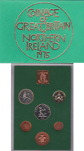 1975  ROYAL MINT PROOF SET