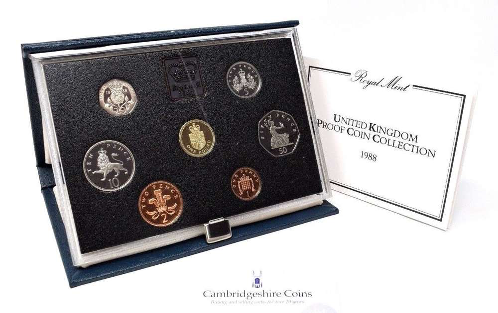 1988  ROYAL MINT PROOF SET