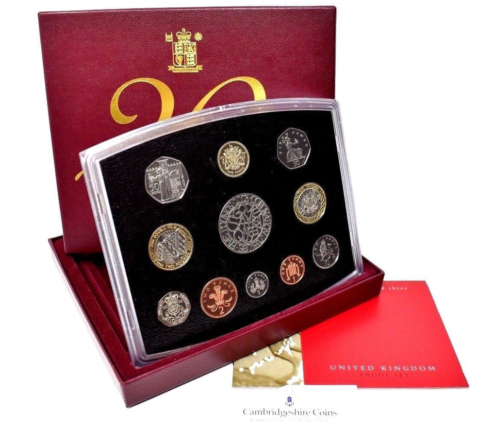 2003 ROYAL MINT PROOF SET