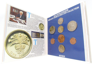 1984 BRILLIANT UNCIRCULATED COIN YEAR SET