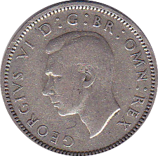 1951 SHILLING (FINE OR BETTER) SCOTTISH