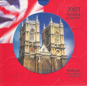 2003 BRILLIANT UNCIRCULATED COIN YEAR SET