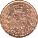 1871 SOVEREIGN ( EF )