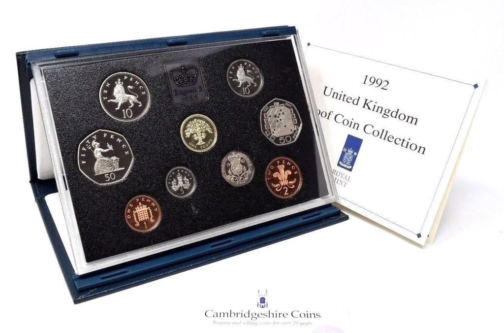 1992  ROYAL MINT PROOF SET