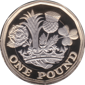 2019 ONE POUND PROOF £1