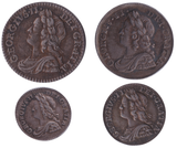 1746 MAUNDY SET GEORGE II