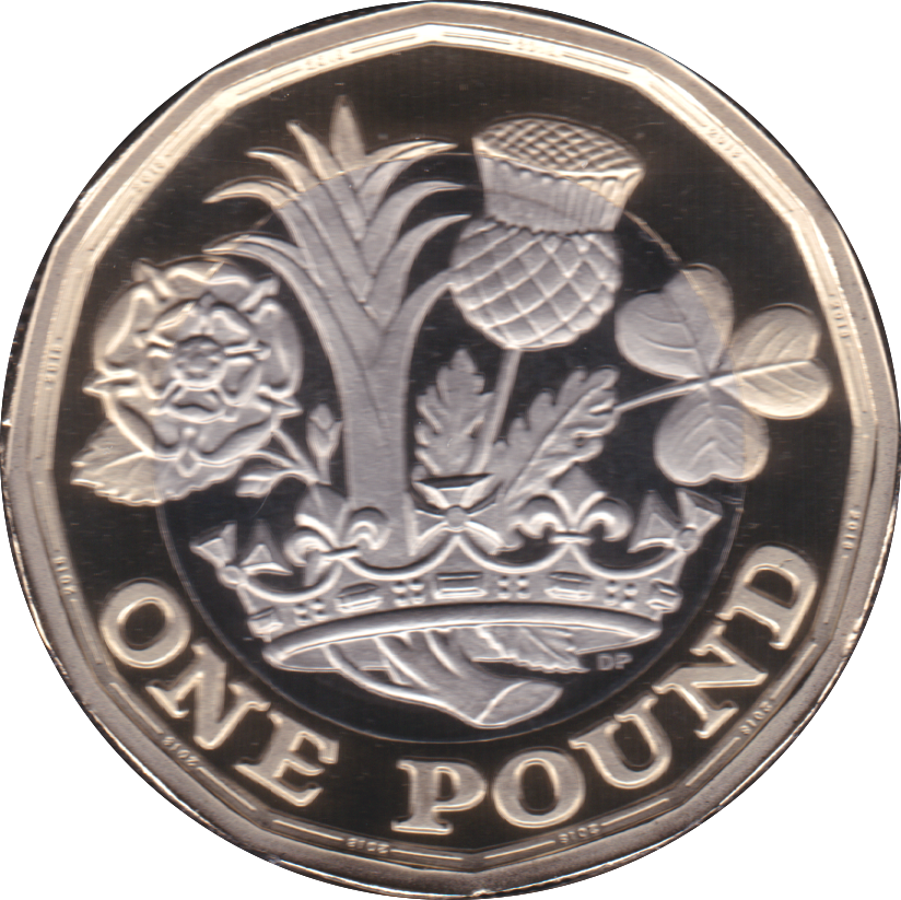 2018 ONE POUND PROOF £1