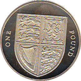 2009 ONE POUND PROOF SHIELD