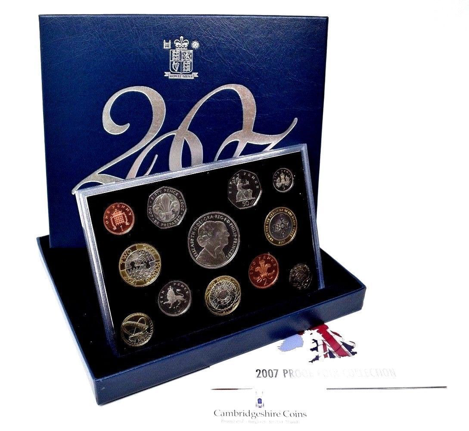 2007 ROYAL MINT PROOF SET