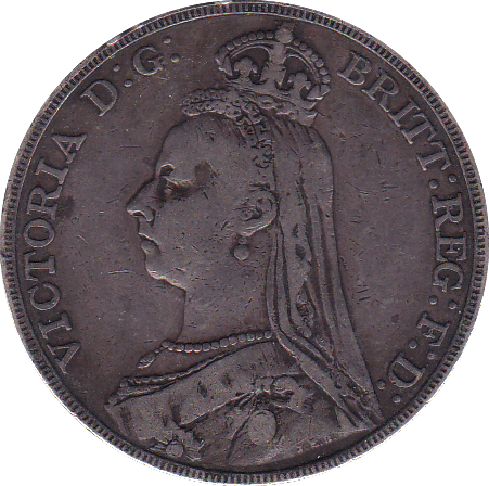 1892 CROWN ( VF )
