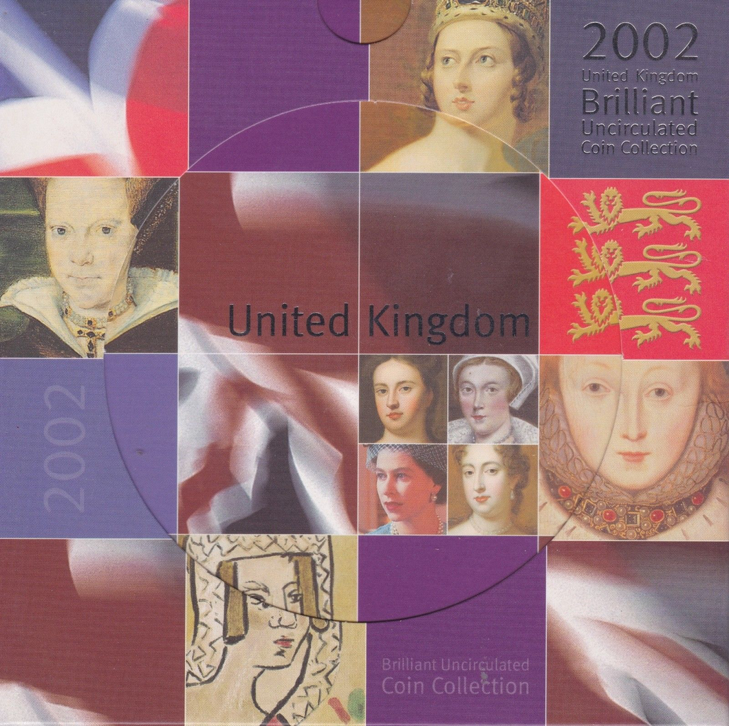 2002 BRILLIANT UNCIRCULATED COIN YEAR SET