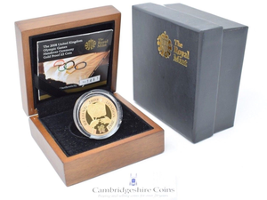 2008 Gold Proof £2 Olympic Games Handover Coin Box COA Bullion Double Sovereign