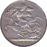 1893 CROWN ( VF ) LVI