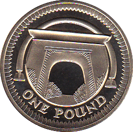 2006 ONE POUND PROOF EGYPTIAN ARCH