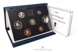 1991  ROYAL MINT PROOF SET