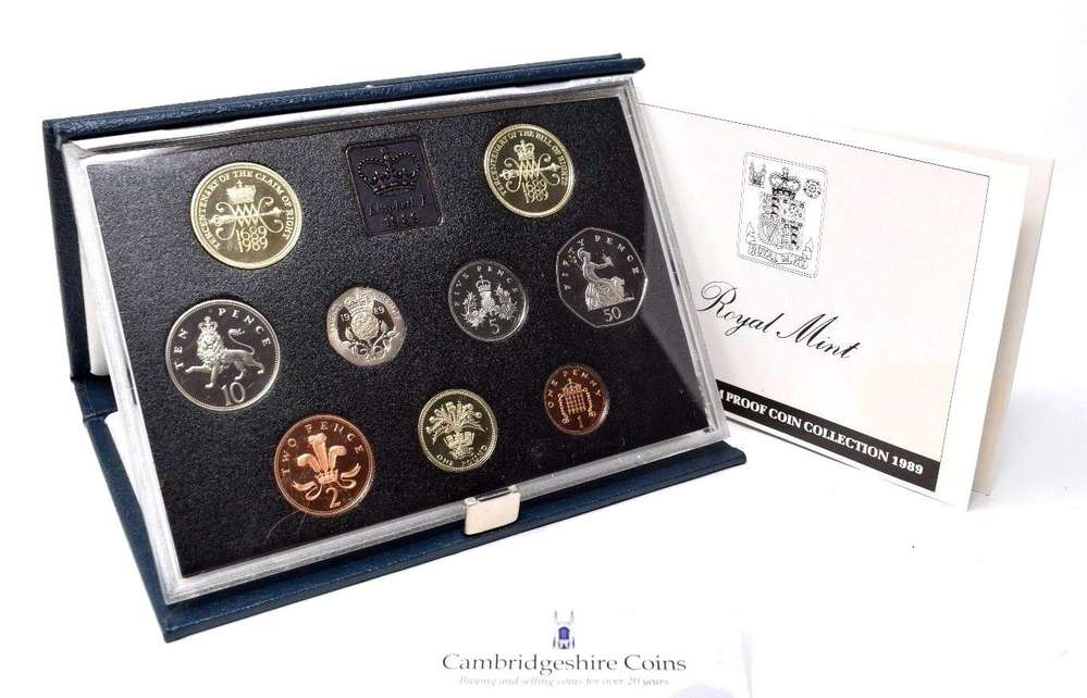 1989  ROYAL MINT PROOF SET