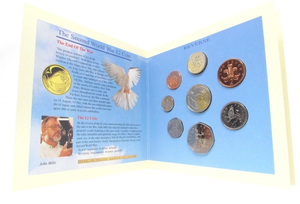1995 BRILLIANT UNCIRCULATED COIN YEAR SET