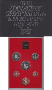 1981  ROYAL MINT PROOF SET
