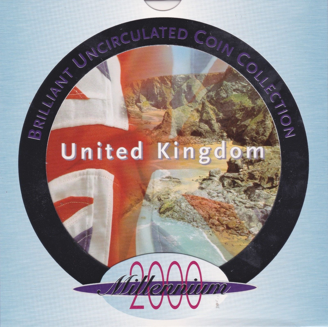 2000 BRILLIANT UNCIRCULATED COIN YEAR SET