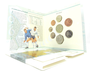 1996 BRILLIANT UNCIRCULATED COIN YEAR SET