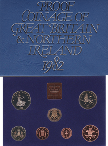 1982  ROYAL MINT PROOF SET