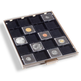 Coin Box QUADRUM 20 square compartments up to 50 mm