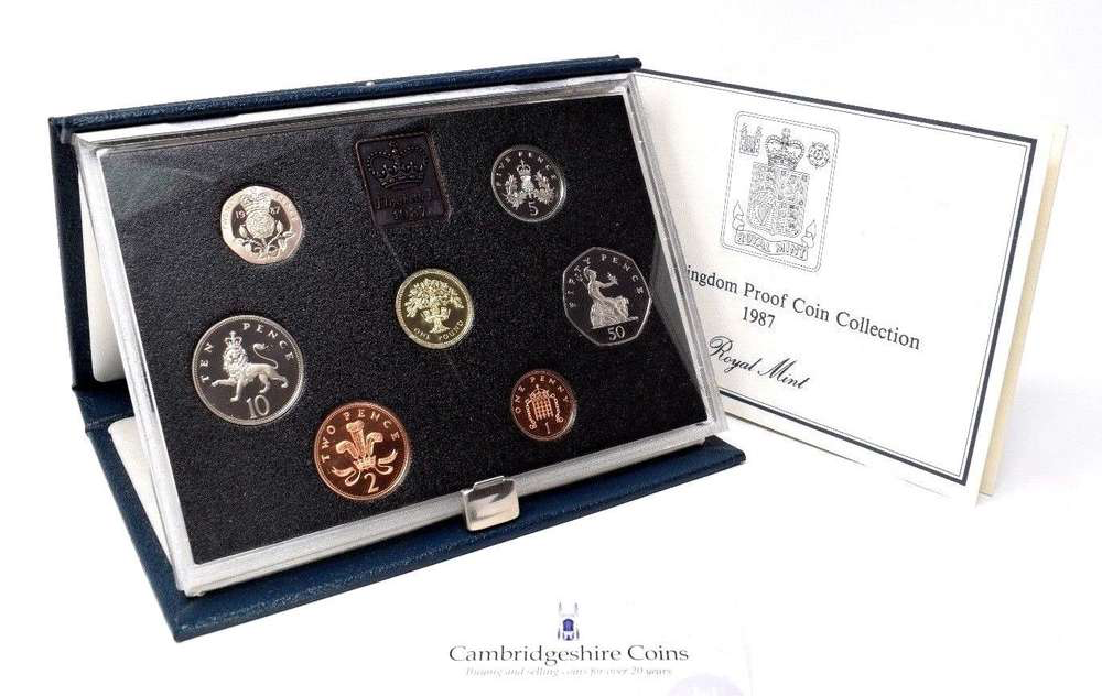 1987  ROYAL MINT PROOF SET