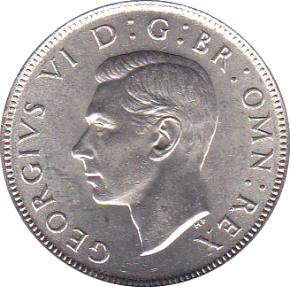 1945 TWO SHILLINGS ( BU )