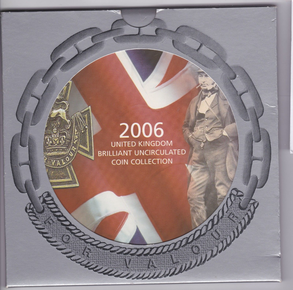 2006 BRILLIANT UNCIRCULATED COIN YEAR SET