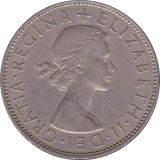1963 HALFCROWN ( FINE OR BETTER )