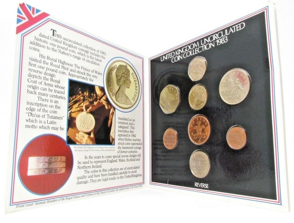 1983 BRILLIANT UNCIRCULATED COIN YEAR SET