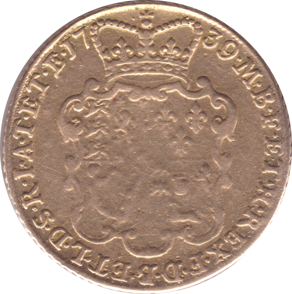1739 TWO GUINEA GEORGE II