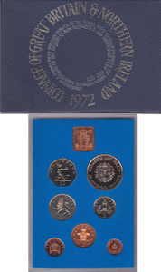 1972  ROYAL MINT PROOF SET