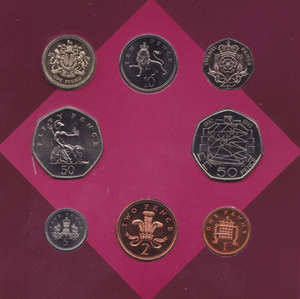 1993 BRILLIANT UNCIRCULATED COIN YEAR SET