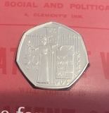 2003 Brilliant Uncirculated Women's Social Union 50p Coin Pack