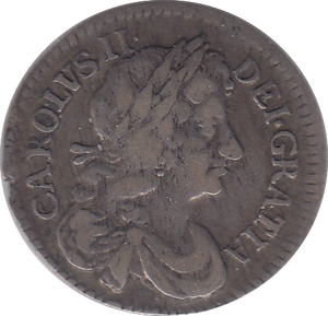 1682 MAUNDY FOURPENCE ( VF )