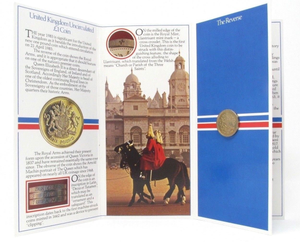 Brilliant Uncirculated £1 Coin Presentation Pack United Kingdom 1983
