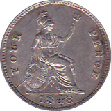 1848 FOURPENCE ( EF )