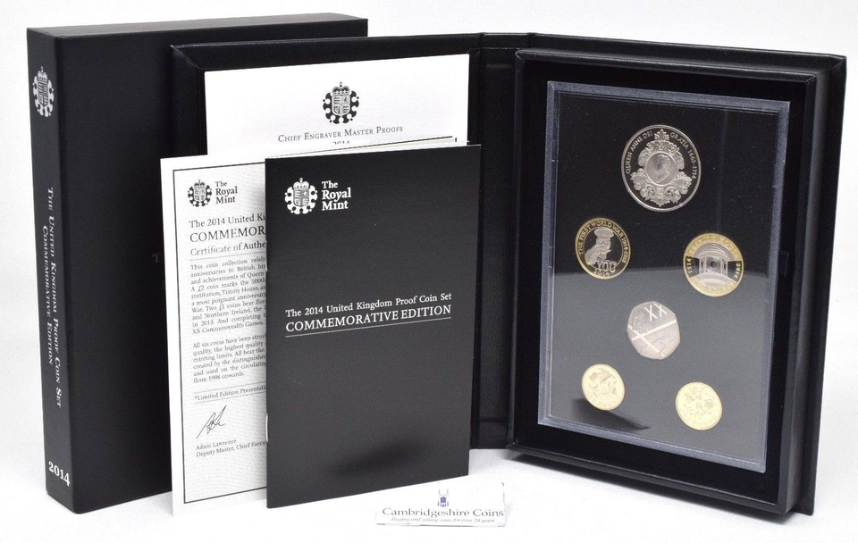 2018 ROYAL MINT COMMEMORATIVE PROOF SET