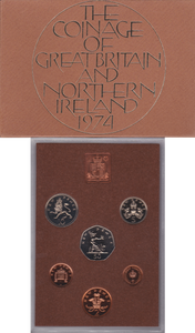 1974  ROYAL MINT PROOF SET