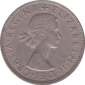 1961 HALFCROWN ( FINE OR BETTER )