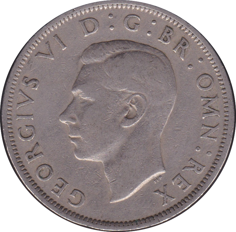 1950 HALFCROWN ( FINE OR BETTER )