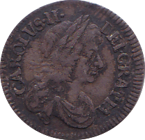 1679 MAUNDY THREEPENCE ( VF )