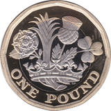 2017 ONE POUND PROOF £1 12 SIDED