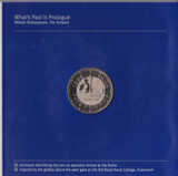 2000 Brilliant Uncirculated £5 Coin Presentation Pack Minted At Dome