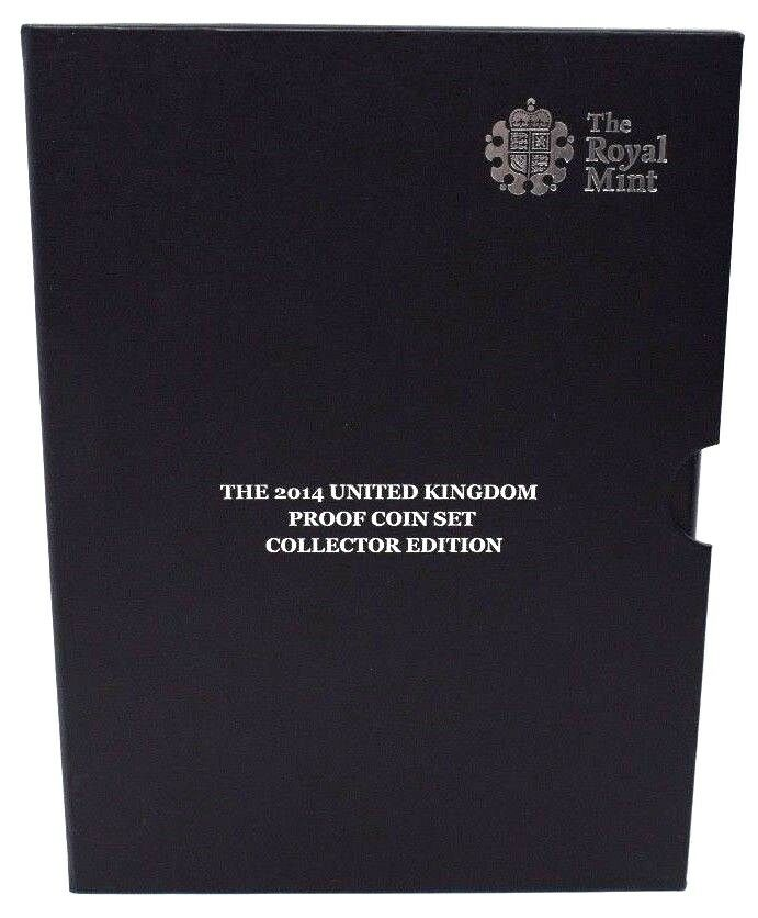 2014 Collectors Edition Coin Proof Year Set BOX ONLY
